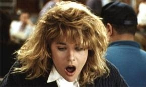 meg ryan faking it, harry met sally orgasm scene,