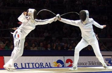 women's epee double touch