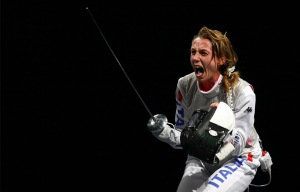 epic foil fencing shout