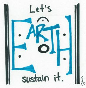 Music sustains Earth smurk media cartoon