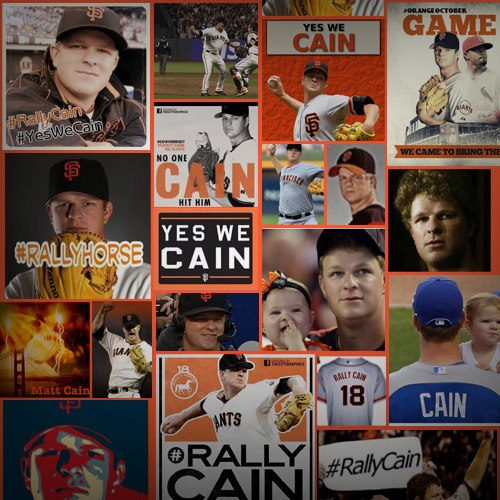 Matt Cain perfect game images